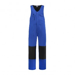 Bodybroek katoen/polyester korenblauw-zwart