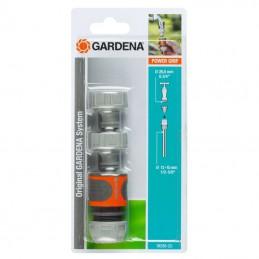 Aansluitset 13 mm en 15 mm tuinslangen