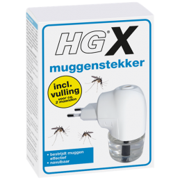 HG X muggenstekker