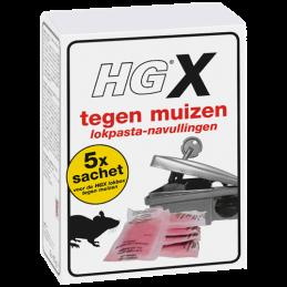 HG X lokpasta tegen muizen