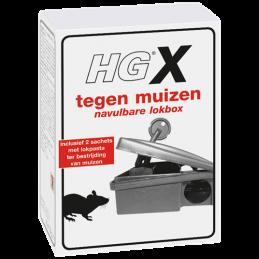 HG X tegen muizen voerdoos met muizengif