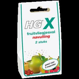 HG X fruitvliegjesval navulling
