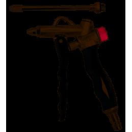 Blaaspistool met drukregelaar