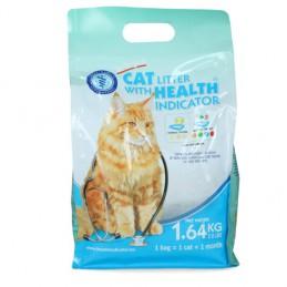 Kattenbakvulling met gezondheidsindicator