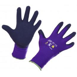 Kinderhandschoen Keron paars mt 6-8 jaar