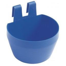 Blauw drink- en voerbakje 0.3L