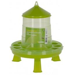 Voersilo groen op poot 2.4 liter