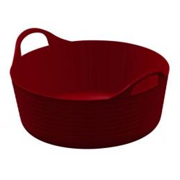 Flexibele mand rood 15 liter