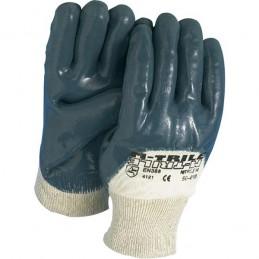 Handschoen blauw met...