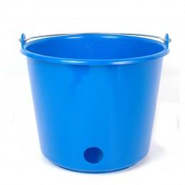 Kalveremmer kunststof rond 12L blauw