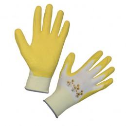 Handschoen Garden Care mt.8 geel
