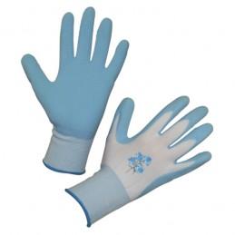 Handschoen Garden Care blauw mt.8