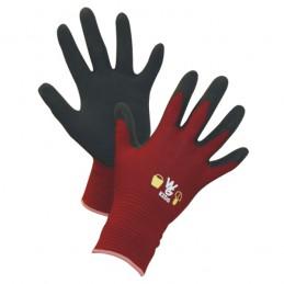 Kinderhandschoen Keron rood mt 8-11 jaar