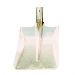 Ballastschop aluminium met strip los