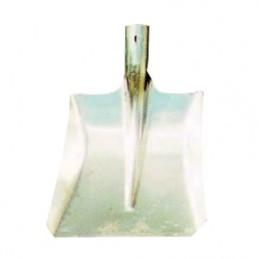 Ballastschop aluminium zonder strip los