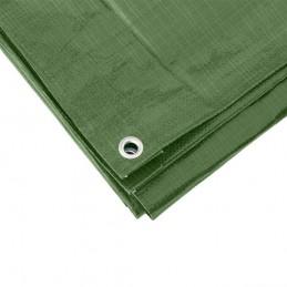 Afdekzeil groen 8 x 10 meter