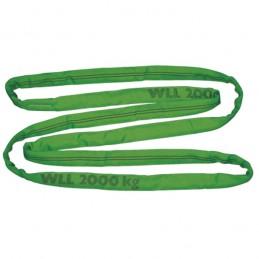 Rondstrop groen 4 meter 2 ton