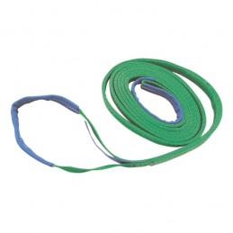 Hijsband 2-laags groen 2m/ 60mm 2 ton