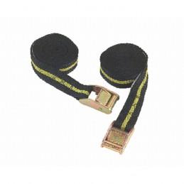 Spanband met klemgesp 2,5m/25mm 2 stuks