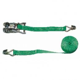 Spanband 6m / 25mm groen