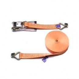 Spanband 8m / 50mm oranje