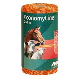 AKO EconomyLine schrikdraad geel/oranje 0.16mm 250m