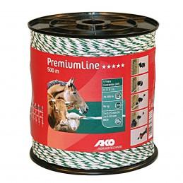 AKO schrikdraad PremiumLine wit/groen 500m