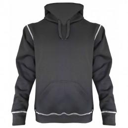 Hooded Sweater zwart hedmark storvik