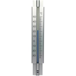 Design Thermometer metaal 29 cm