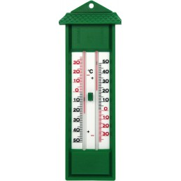 Thermometer groen min/max