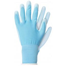 Handschoenen polyester blauw