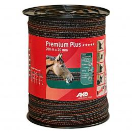 AKO Premium Plus schriklint bruin/oranje 2cm 200m
