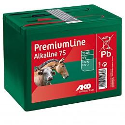 Ako alkaline batterij 9V 75ah