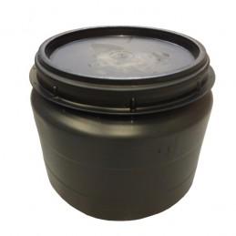 Voerton met schroefdeksel 25 liter