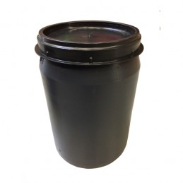 Voerton met schroefdeksel 40 liter