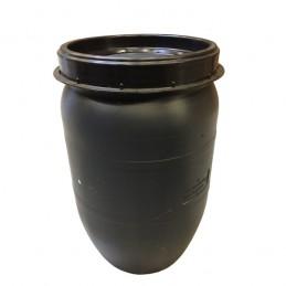 Voerton met schroefdeksel 60 liter