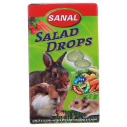 Sanal Groenten Drops voor knaagdieren 45 gram