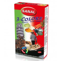 Sanal 3-colore drops voor knaagdieren 45 gram