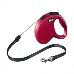 BZ Flexi New Classic hondenriem rood 5meter