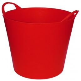 Flexibele Tuinmand 40 liter rood