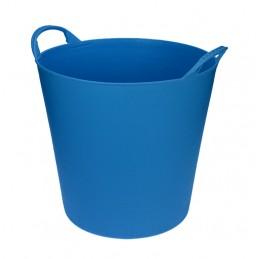 Flexibele Tuinmand 40 liter licht blauw