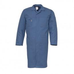 Katoenen Lange Stofjas 4023 rafblauw