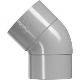 Martens PVC bocht 110mm 1xlm 45 graden grijs