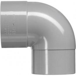 Martens PVC bocht 50mm 1xlm 90 graden grijs