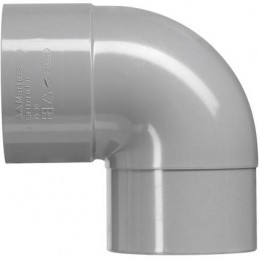 Martens PVC bocht 75mm 1xlm 90 graden grijs