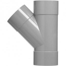 Martens PVC T-stuk 40mm 3xlm 45 graden
