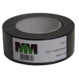 Duct Tape zwart 50 meter x 5 cm