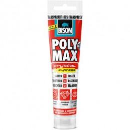 Bison Poly Max Crystal transparant 115 gram