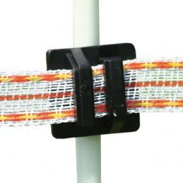 Klikisolator voor draad en lint voor ronde palen