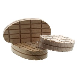 Klauwblokje hout 10 stuks